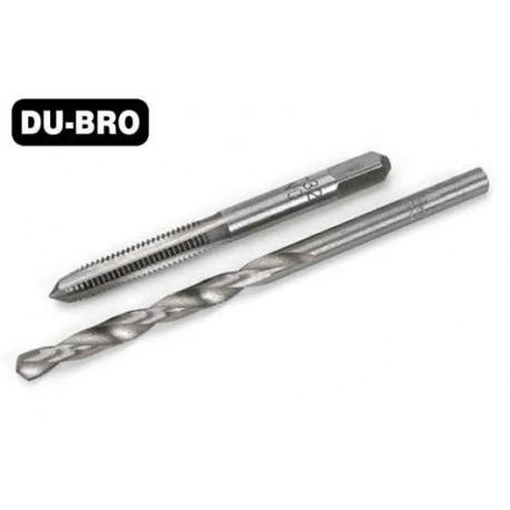 DUB373 Outil - Set de mèche et taraud 4mm (1 set)