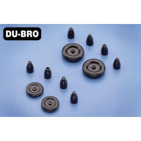 DUB38MTW Pièce d'avion - Roues - 10mm (3/8'') - Micro Tail (2 pcs)