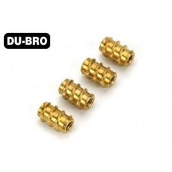 DUB392 Inserts filetés - 6-32 (4 pces)