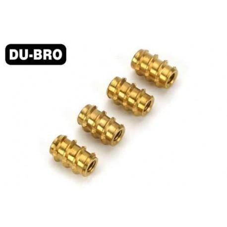 DUB393 Inserts filetés - 8-32 (4 pces)