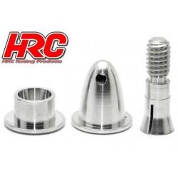 HRC35A200 Cône d'hélice - Adaptateur moteur EP - Type fendu - Court - axe moteur 2.0mm