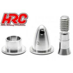 HRC35A230 Cône d'hélice - Adaptateur moteur EP - Type fendu - Court - axe moteur 2.3mm