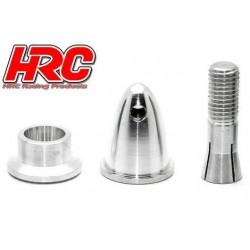 HRC35B400 Cône d'hélice - Adaptateur moteur EP - Type fendu - Long - axe moteur 4.0mm