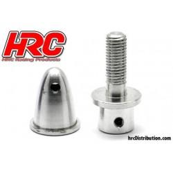 HRC35F400 Cône d'hélice - Adaptateur moteur EP - Type pincé - Court - axe moteur 4.0mm