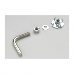 GF-0161-001 Crochet de remorquage - 2.15x20mm - Acier galvanisée - 2 pcs