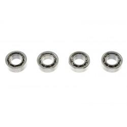 GF-0500-001 Roulement à billes - acier chromée - ABEC 3 - 3X6X2 - MR63 - 4 pcs