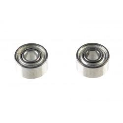 GF-0550-002 Roulement à billes - acier chromée - ABEC 3 - Flasque métal - 1,5X4X2 - MR681XZZ - 2 pcs