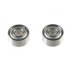 GF-0550-003 Roulement à billes - acier chromée - ABEC 3 - Flasque métal - 2X5X2,5 - MR52ZZ - 2 pcs