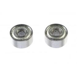 GF-0550-006 Roulement à billes - acier chromée - ABEC 3 - Flasque métal - 2X6X3 - MR692ZZ - 2 pcs