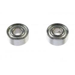 GF-0550-007 Roulement à billes - acier chromée - ABEC 3 - Flasque métal - 2,5X6X2,6 - MR682X-ZZ 3 - 2 pcs