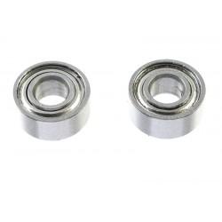 GF-0550-010 Roulement à billes - acier chromée - ABEC 3 - Flasque métal - 3X7X3 - MR73ZZ - 2 pcs