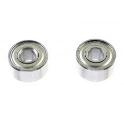 GF-0550-012 Roulement à billes - acier chromée - ABEC 3 - Flasque métal - 3X8X4 - MR693ZZ - 2 pcs