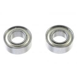 GF-0550-016 Roulement à billes - acier chromée - ABEC 3 - Flasque métal - 4X8X3 - MR84ZZ - 2 pcs