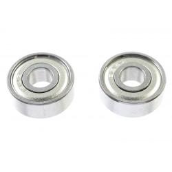 GF-0550-019 Roulement à billes - acier chromée - ABEC 3 - Flasque métal - 4X11X4 - MR694ZZ - 2 pcs