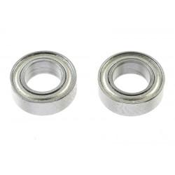GF-0550-022 Roulement à billes - acier chromée - ABEC 3 - Flasque métal - 5X9X3 - MR95ZZ - 2 pcs