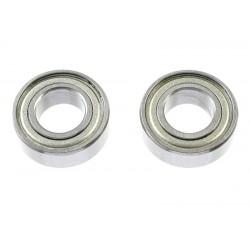 GF-0550-027 Roulement à billes - acier chromée - ABEC 3 - Flasque métal - 6X12X4 - MR126ZZ - 2 pcs
