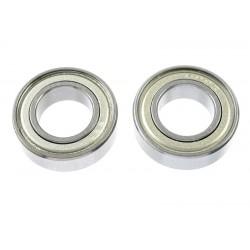 GF-0550-030 Roulement à billes - acier chromée - ABEC 3 - Flasque métal - 9X17X5 - MR689ZZ - 2 pcs