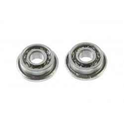 GF-0555-001 Roulement à billes - acier chromée - ABEC 3 - Flasque métal - 2X5X1,5 - avec flasque - MF52 - 2 pcs