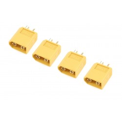 GF-1003-003 Connecteur - XT-60 - Contact or - Femelle - 4 pcs