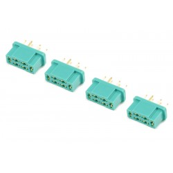 GF-1004-002 Connecteur - MPX - Contact or - Male - 4 pcs