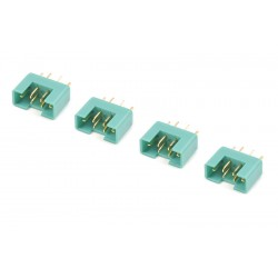 GF-1004-003 Connecteur - MPX - Contact or - Femelle - 4 pcs