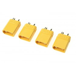 GF-1030-003 Connecteur - XT-30 - Contact or - Femelle - 4 pcs