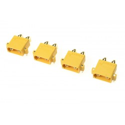 GF-1031-003 Connecteur - XT-30PW - Contact or - Femelle - 4 pcs