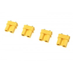 GF-1032-002 Connecteur - XT-30UPB - Contact or - Male - 4 pcs