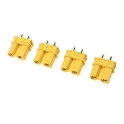 GF-1033-002 Connecteur - XT-30U - Contact or - Male - 4 pcs