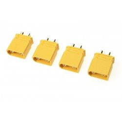 GF-1033-003 Connecteur - XT-30U - Contact or - Femelle - 4 pcs