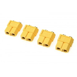 GF-1042-002 Connecteur - XT-60PB - Contact or - Male - 4 pcs