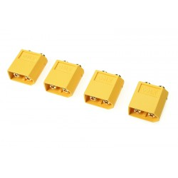 GF-1042-003 Connecteur - XT-60PB - Contact or - Femelle - 4 pcs