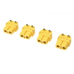 GF-1043-002 Connecteur - XT-60PW - Contact or - Male - 4 pcs