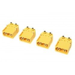 GF-1043-003 Connecteur - XT-60PW - Contact or - Femelle - 4 pcs
