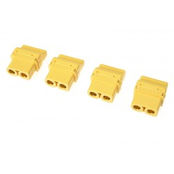GF-1044-002 Connecteur - XT-60PT - Contact or - Male - 4 pcs