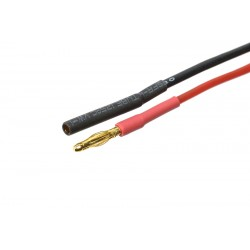 GF-1050-001 Connecteur w/ Lead - 2.0mm - Contact or - 20AWG Silicone Wire - 10cm - 1 pc