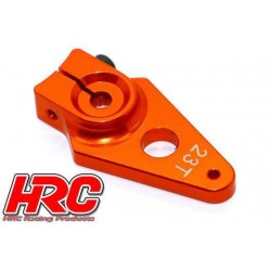 HRC41251-30 Palonier de servo – Spécial Avion - Type Aluminium Clamp - 30mm Long - Simple - 23D (Sanwa / Ko Propo / JR)