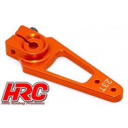 HRC41251-45 Palonier de servo – Spécial Avion - Type Aluminium Clamp - 45mm Long - Simple - 23D (Sanwa / Ko Propo / JR)