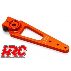 HRC41251-56 Palonier de servo – Spécial Avion - Type Aluminium Clamp - 56mm Long - Simple - 23D (Sanwa / Ko Propo / JR)
