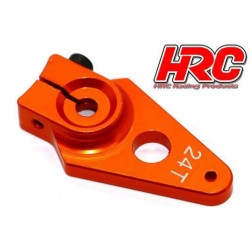 HRC41252-30 Palonier de servo – Spécial Avion - Type Aluminium Clamp - 30mm Long - Simple - 24D (Hitec)