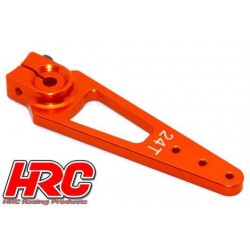 HRC41252-56 Palonier de servo – Spécial Avion - Type Aluminium Clamp - 56mm Long - Simple - 24D (Hitec)