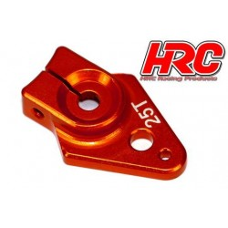 HRC41253-25 Palonier de servo - Type Aluminium Clamp - 25mm Long - Simple - 25D (Futaba / Sâvox / Power HD / Orion)