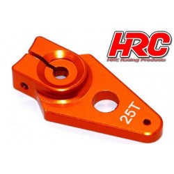 HRC41253-30 Palonier de servo – Type Aluminium Clamp - 30mm Long - Simple - 25D (Futaba / Sâvox / Power HD / Orion)
