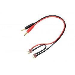 GF-1200-071 Cordon de charge - Série - Deans - 14AWG cble silicone - 30cm - 1 pc