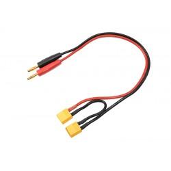 GF-1200-091 Cordon de charge - Série - XT-60 - 14AWG cble silicone - 30cm - 1 pc