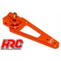 HRC41253-50 Palonier de servo - Type Aluminium Clamp - 50mm Long - Simple - 25D (Futaba / Sâvox / Power HD / Orion)