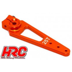 HRC41253-56 Palonier de servo – Type Aluminium Clamp - 56mm Long - Simple - 25D (Futaba / Sâvox / Power HD / Orion)