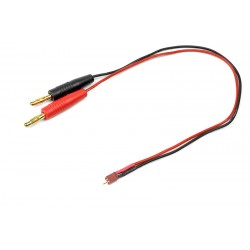 GF-1201-050 Cordon de charge - Micro Deans - 20AWG cble silicone - 30cm - 1 pc