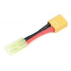 GF-1301-008 cble adaptateur - XT-60 Male / Mini Tamiya Male - 16AWG cble silicone - 1 pc