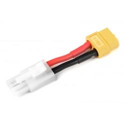 GF-1301-045 cble adaptateur - Tamiya Femelle / XT-60 Femelle - 14AWG cble silicone - 1 pc